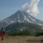 Мое первое восхождение на вулкан Горелый