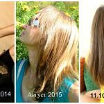Эволюция моих волос на сыроедении и не только